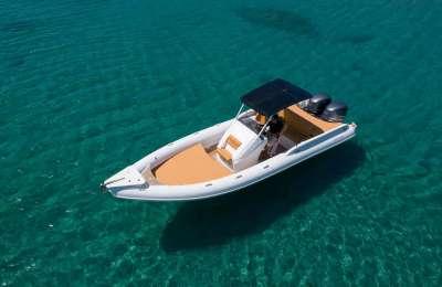Skipper Rental Boat Moraitis 50
